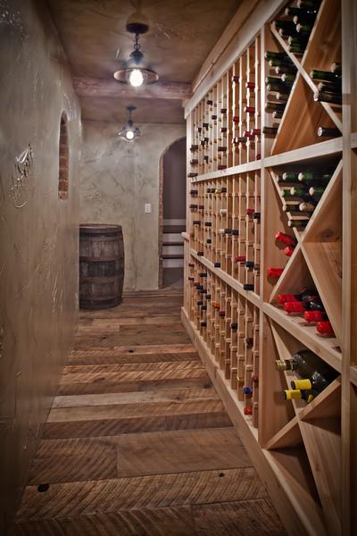 Civil War era reclaimed wood flooring