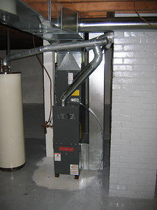 NEW FURNACE AND DUCTWORK