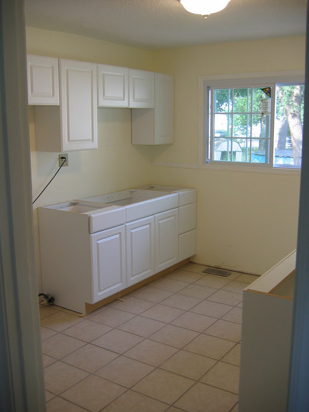 Kitchen Cabinets Installed