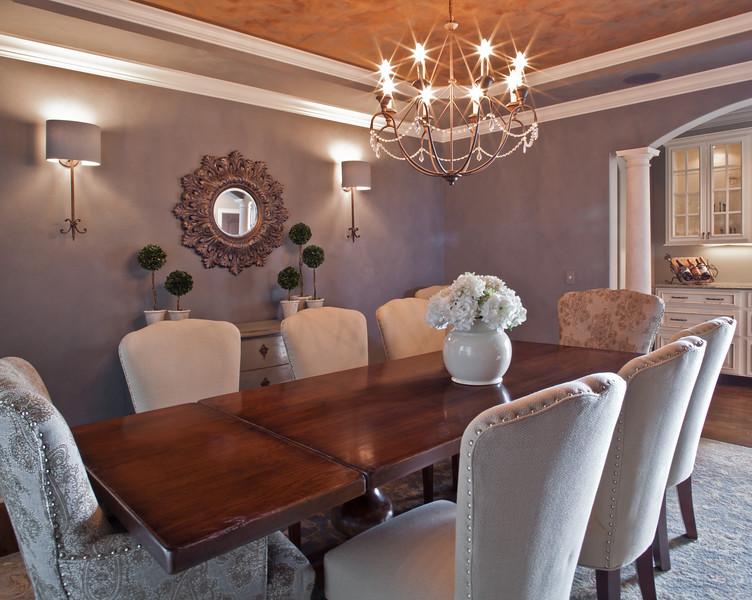 Memmer Homes formal dining room