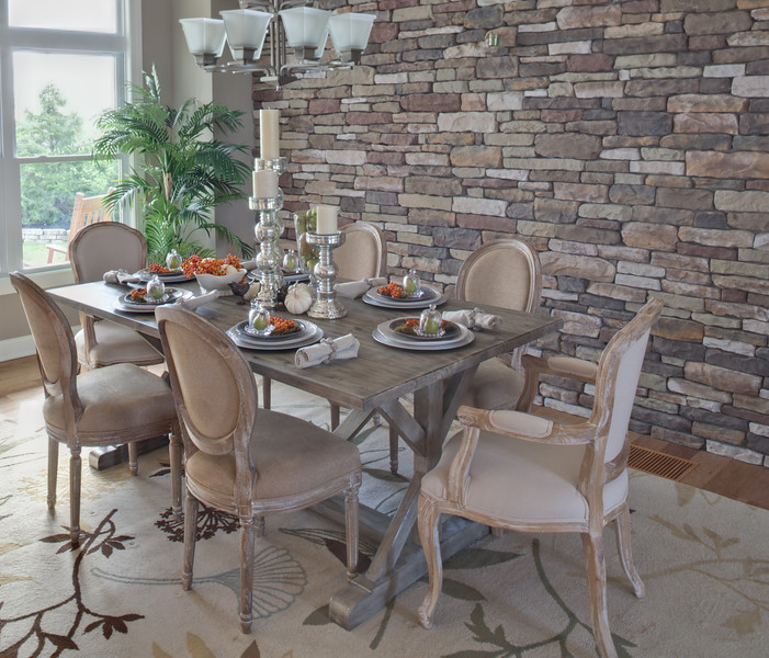 Schumacher Homes formal dining room