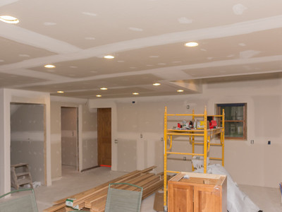 Phase 4.2-Internal Wiring & Drywall Finishing