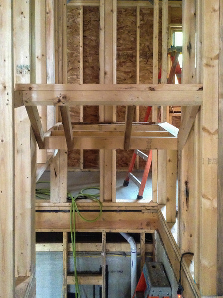 Stairwell framing
