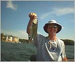 Jay P fishing Lakehouse - Summer 2003