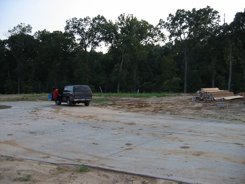 Front Street View of Lot