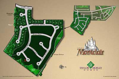 Les Chambres Montclair Site Map