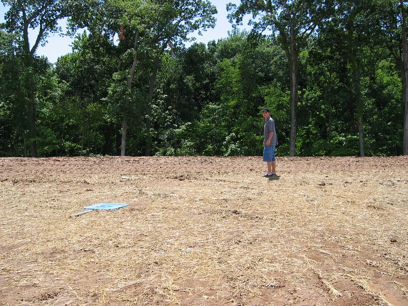 Lot Facing Woods