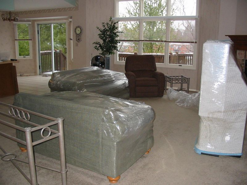 Avery Place Packed Up<BR> January 29