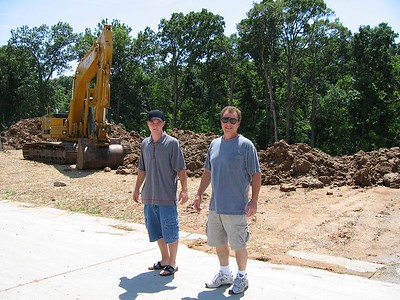 Front Street facing Lot July 04, 2004