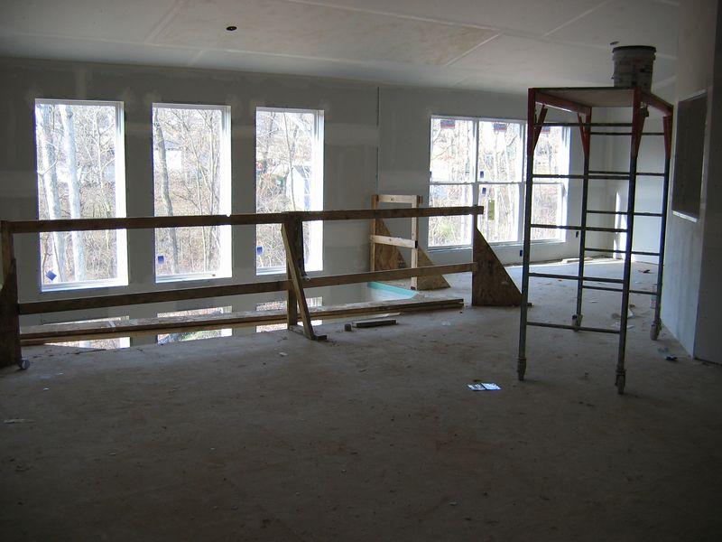 Drywall near Completion<BR> December 18