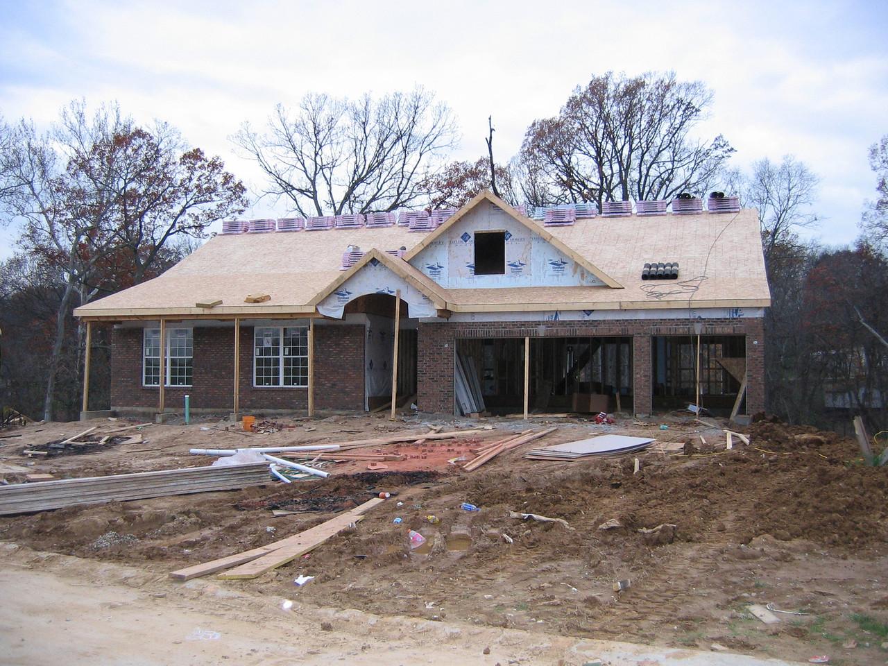 Brick Completed November 15