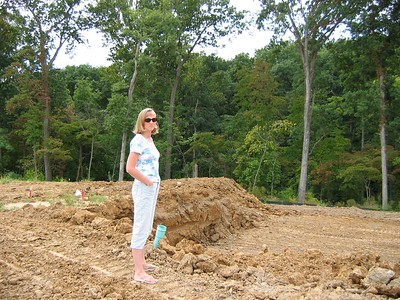 Looking at the Foundation Dug September 18