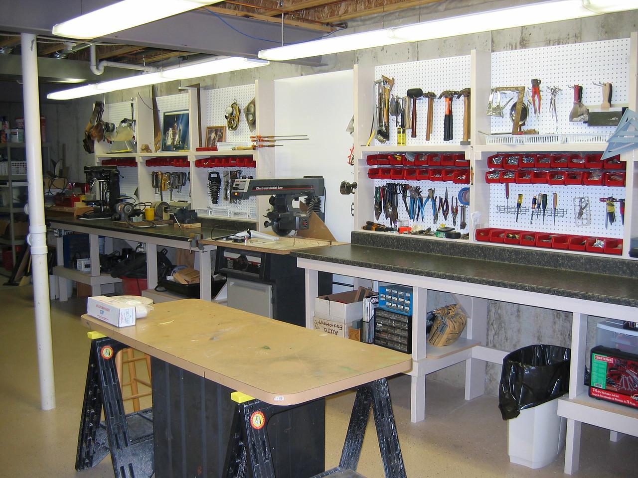 Jay's Shop (in progress) December 2005