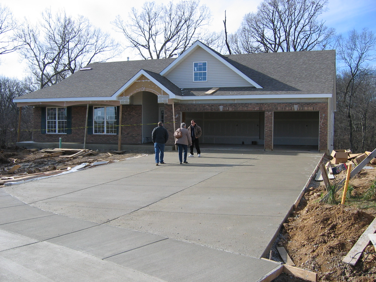 Driveway & Porched Finished