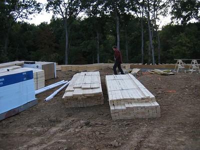 Lumber for House October 7