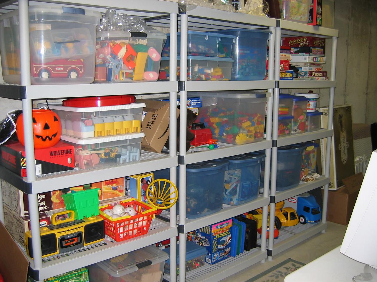 Jackie's Toy Shop December 2005