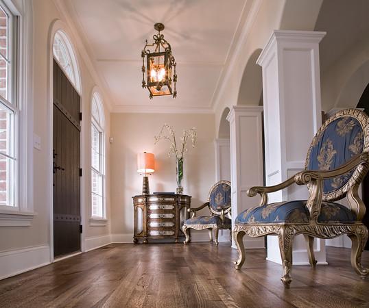 Quartersawn oak flooring