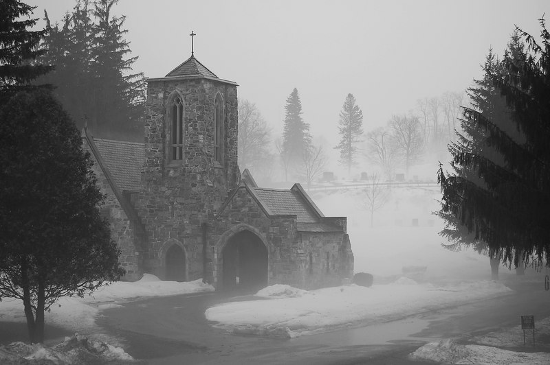 The Chapel at the cemetery on Rt 2 in Williamstown, MA
