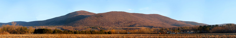 Mt. Greylock pano, as viewed from Williamstown, MA.