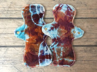 "TWO UltiMini xs Pads - ""earthy geode"""