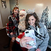 2017 Miss Effingham County Fair Queen Maria Lueken takes a selfie with Junior Miss Elizabeth Weidner and Santa Saturday evening during Hometown Christmas sponsored by the Downtown Effingham Business Group.<br /> Chet Piotrowski Jr. photo/Piotrowski Studios