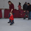 Zoie Eubank, 2, skates with her mom, Alisha Eubank, both of Effingham, at Hometown Christmas. Dawn Schabbing photo