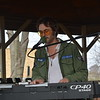 Jeremy Adam of Pana provided music at the gazebo on the courthouse lawn.  Dawn Schabbing photo