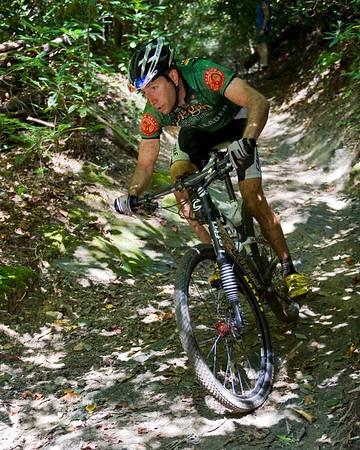 Pisgah Mountain Bike Stage Race - Jeremiah Bishop, Race Leader