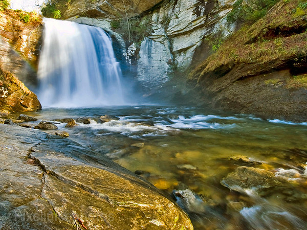 Looking Glass Falls, Pisgah National Forest