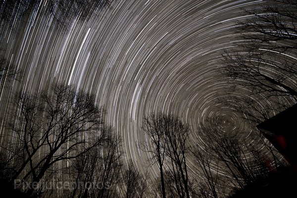 521 shot Star Trail