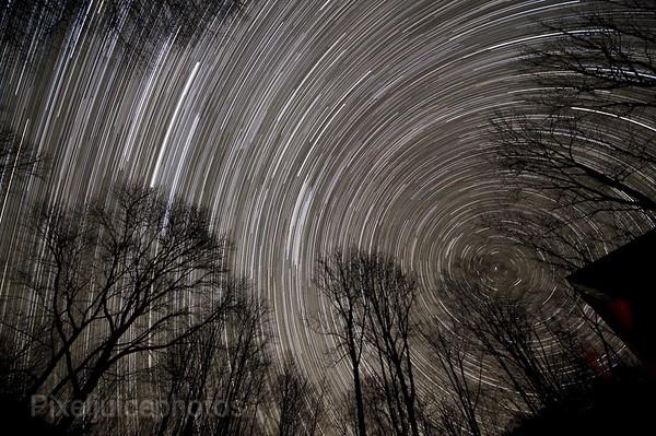 521 shot Star Trail