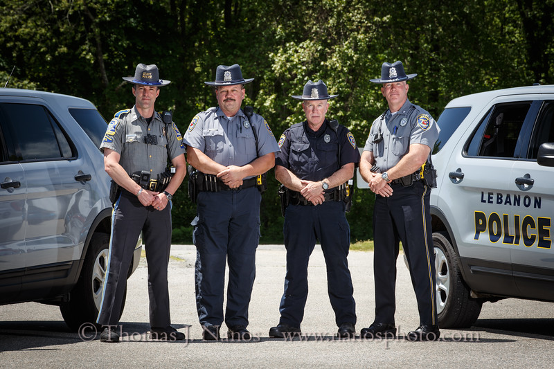 Connecticut State Police Resident Trooper and the Lebanon Police Department