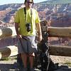 Steve and Sawyer at Cedar Breaks