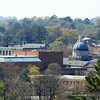 The hike included a view of Samford Univiersity. I took my zoom camera I use for my moon picture was able to get this.