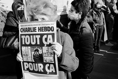 Hommage à Samuel Paty, place de la République (Paris), le dimanche 18 octobre 2020.
