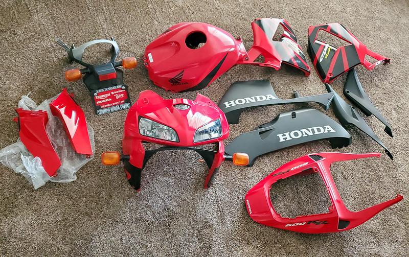 Honda CBR600RR Bodywork -  (1)