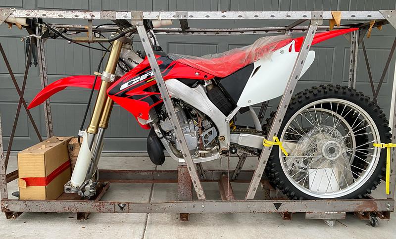 Honda CR250R -  (1)