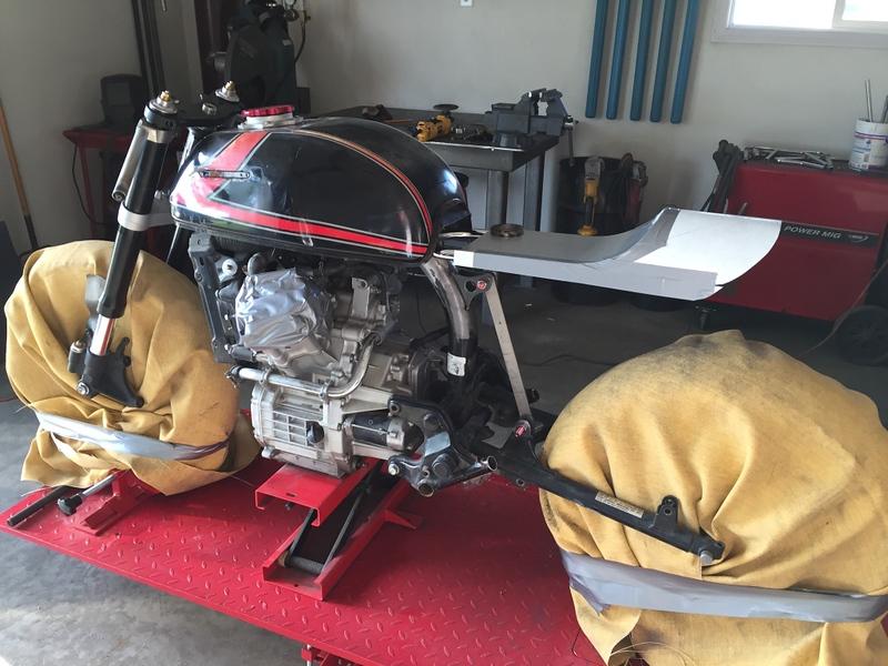 Honda CX500 Custom - Build Photos (107)