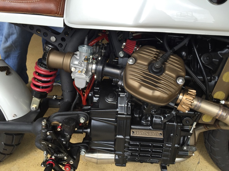 Honda CX500 Custom - Build Photos (116)