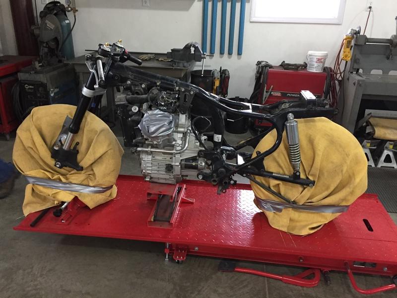 Honda CX500 Custom - Build Photos (113)
