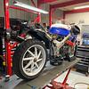 Honda RC30 Service - Rear Right