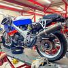 Honda RC30 Service - Rear Left