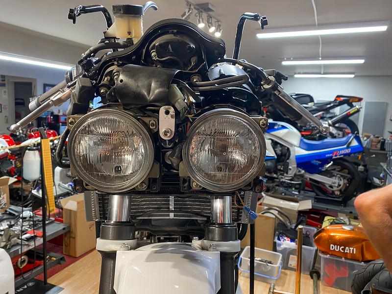 Honda VFR400 Shop -  (1)