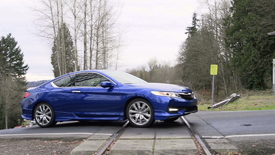 2017 Honda Accord Coupe EX-L V6 HFP Driving Footage