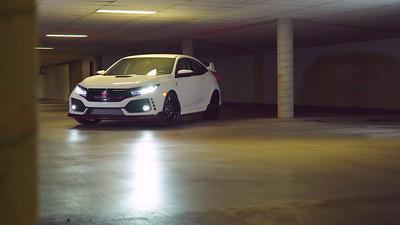2018 Honda Civic Type R Touring Parked Reel