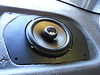 "Aftermarket speaker and speaker adapter plate  from  <a href=""http://www.car-speaker-adapters.com/items.php?id=SAK030""> Car-Speaker-Adapters.com</a>   installed"