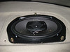 "Aftermarket speaker and  speaker adapter  from  <a href=""http://www.car-speaker-adapters.com/items.php?id=SAK030""> Car-Speaker-Adapters.com</a>   installed in rear deck"