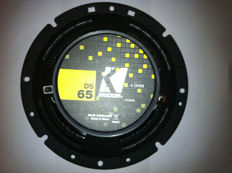 New Kicker DS65 Aftermarket Speaker Rear
