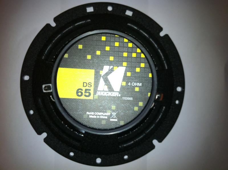New Kicker DS65 Aftermarket Speaker Rear