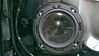 "Aftermarket speaker and   speaker adaptor ring   from  <a href=""http://www.car-speaker-adapters.com/items.php?id=SAK028""> Car-Speaker-Adapters.com</a>   installed on door"
